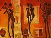 Malarstwo Afryki