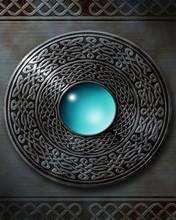 1 Blue Drop Orb