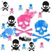 Kolor czaszki
