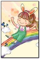 Siting On Rainbow