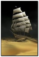 Ship In Desert