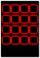 Red Cubes iPhone