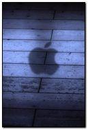 Shadow Apple Logo