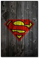 superman wooden