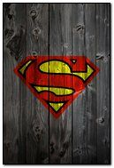 wooden superman