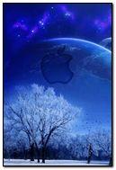 blue nature log