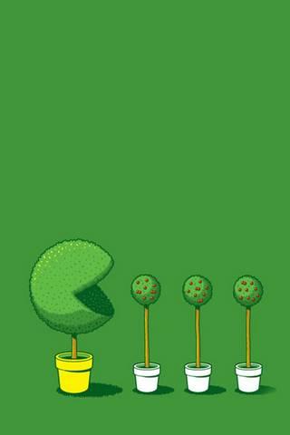 Pacman Plants