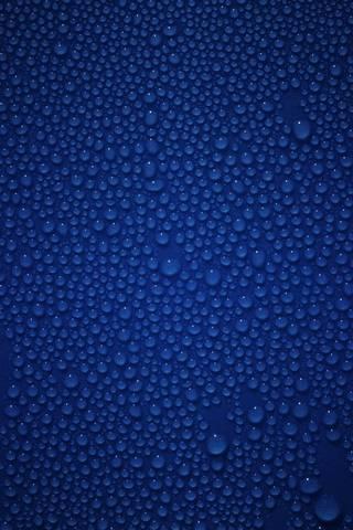 Azul molhado
