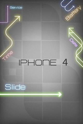 Neon IPhone 4