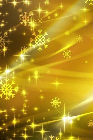 Yellow SnowFlakes