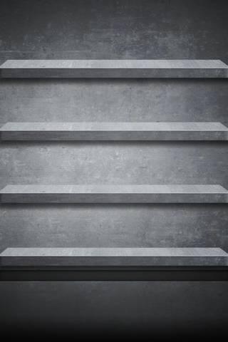 Stone Shelves