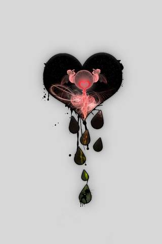 Dripping Heart