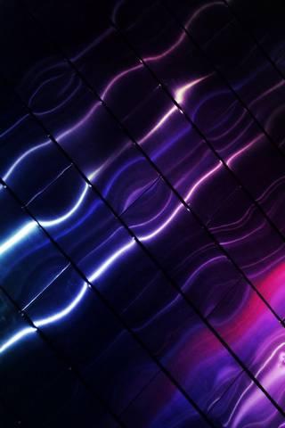 Purple Wavy Metal