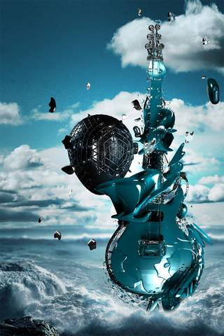 3Dギター