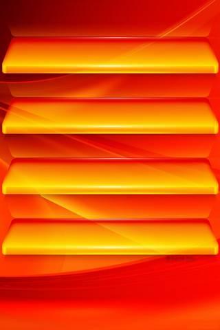 Orange Wave