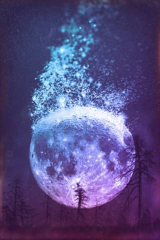 Moon Dissolving