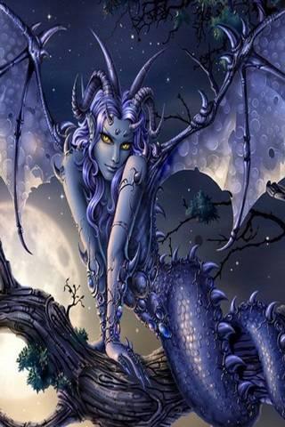 Mujer Dragon