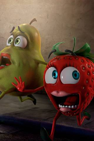 Shocked Fruits