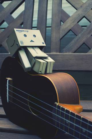 Danbo With Guitar