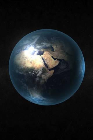 Iphone 3D Globe