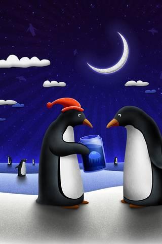 البطريق الحاضر