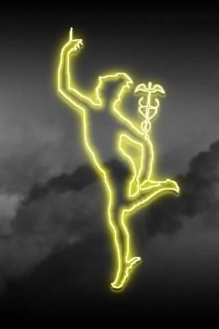Neon Hermes