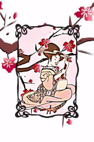 Geisha IPhone 4