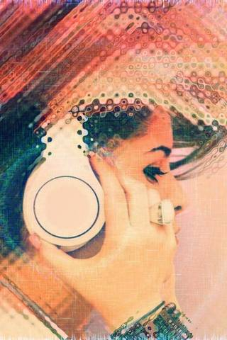 Musik Mädchen