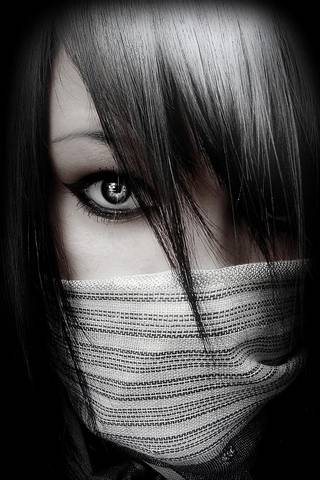 Emo女孩面具