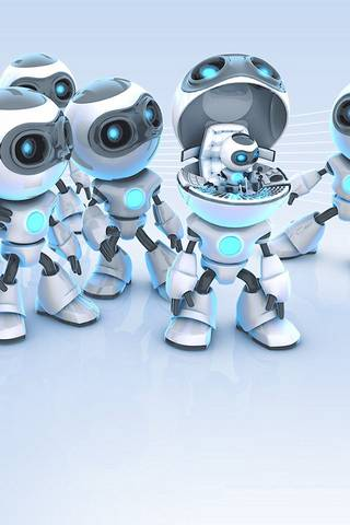 可爱机器人
