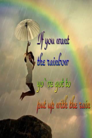 Dire de la pluie