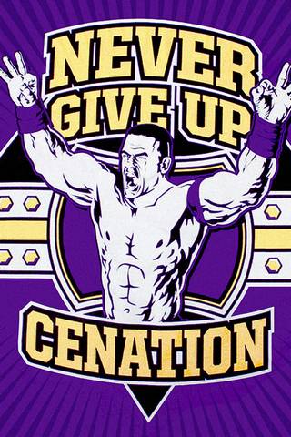 Cena Give Up