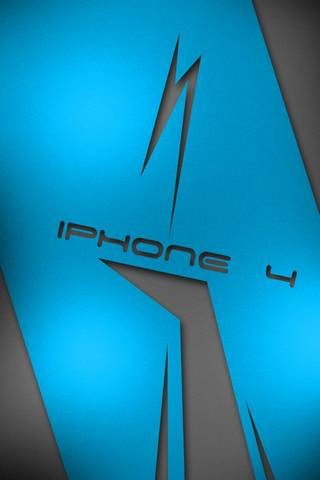 IPHONE 4 BLUE