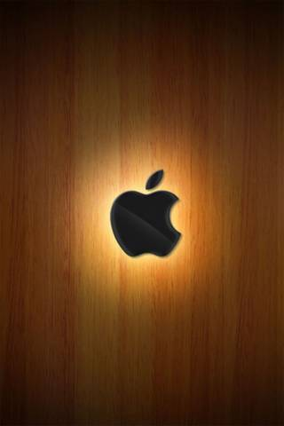 Apple Wooden Glow