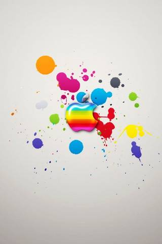 Color Splash Apple