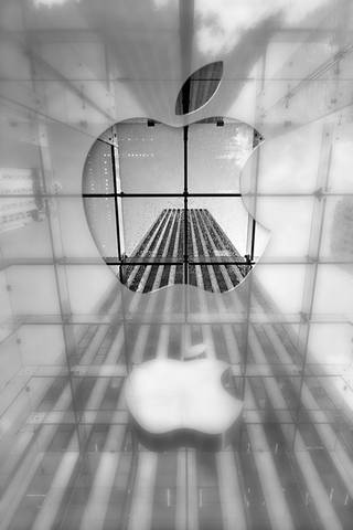 Apple Glas* Logo