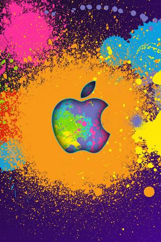 Warna Splash Apple