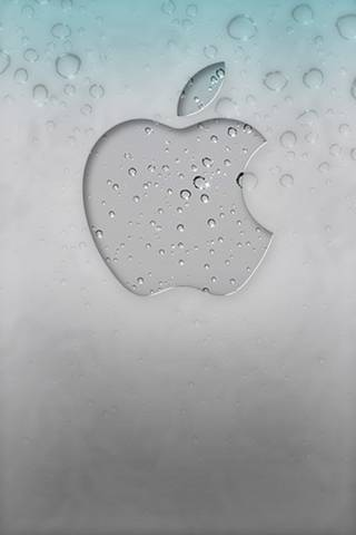 Logo Apple Glas *