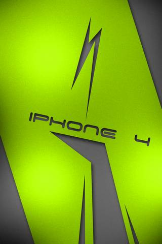 IPHONE 4 GREEN