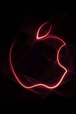 लेसर केलेले ऍपल लोगो