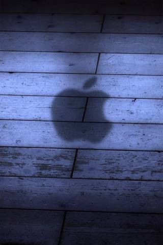Shadow Apple Logo