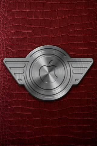 Emblem Apple L