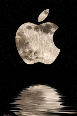 APPLE MOON LOGO