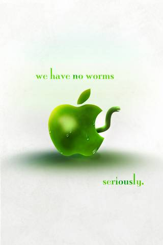 Apple No Worms