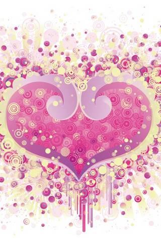 गुलाबी हृदय