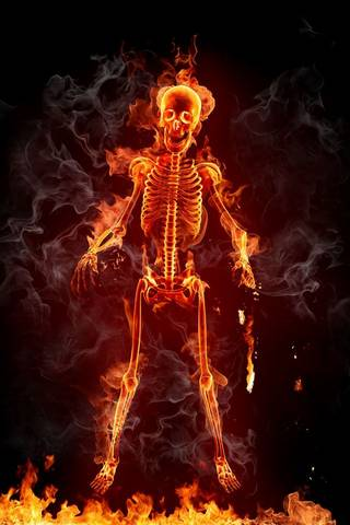 FLAming SkeLetOn