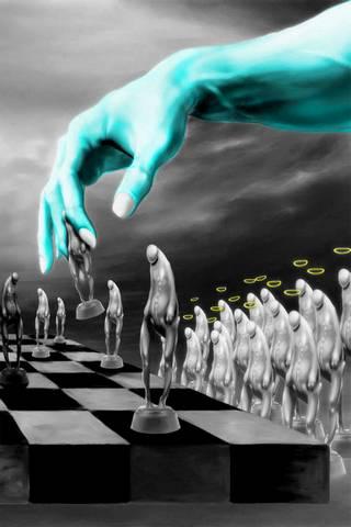 Schach-Engel