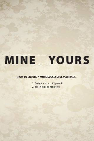 Mine Yours