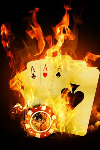 Fire Cards Iphone