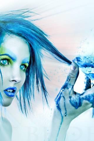 BLue HAir BLue